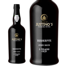 Justino's Madeira, Reserve 5 Year Old Fine Rich NV