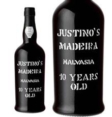 Justino's Madeira, Malvasia 10 Years Old NV