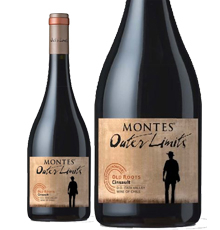 Outer Limits by Montes, Old Roots Itata Cinsault 2016