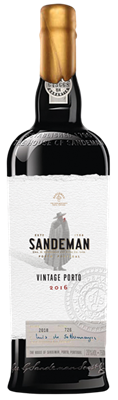 Sandeman, Vintage Port, 2016, 75cl, Natural Cork