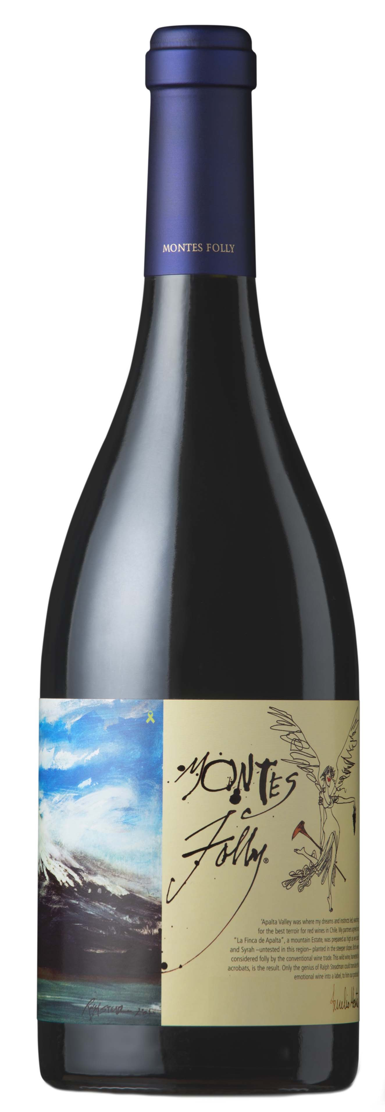 Montes , 'Folly' Syrah Apalta Vineyard 2013