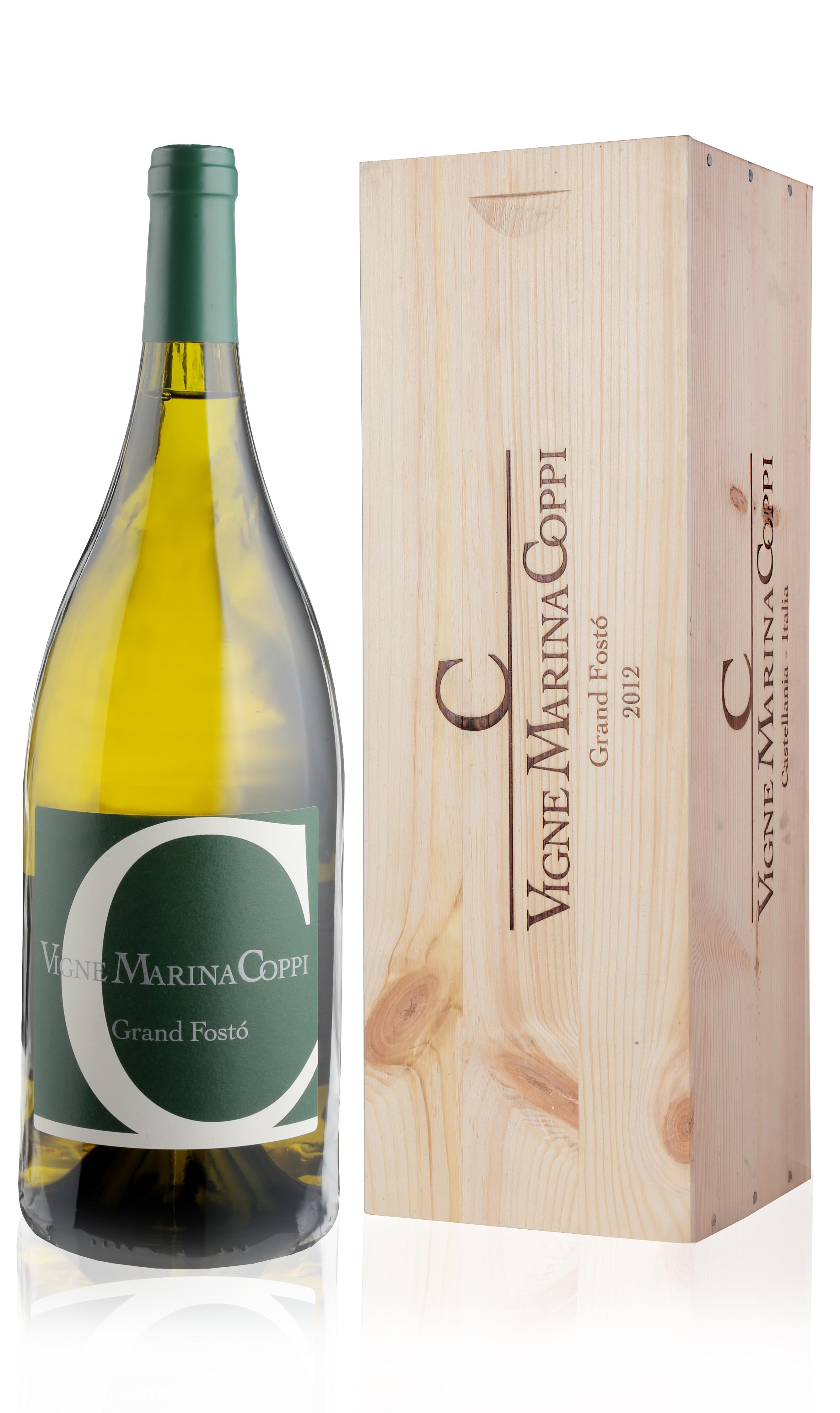 Vigne Marina Coppi, 'Grand Fosto' Timorasso (Wooden Bottle Box) 2012