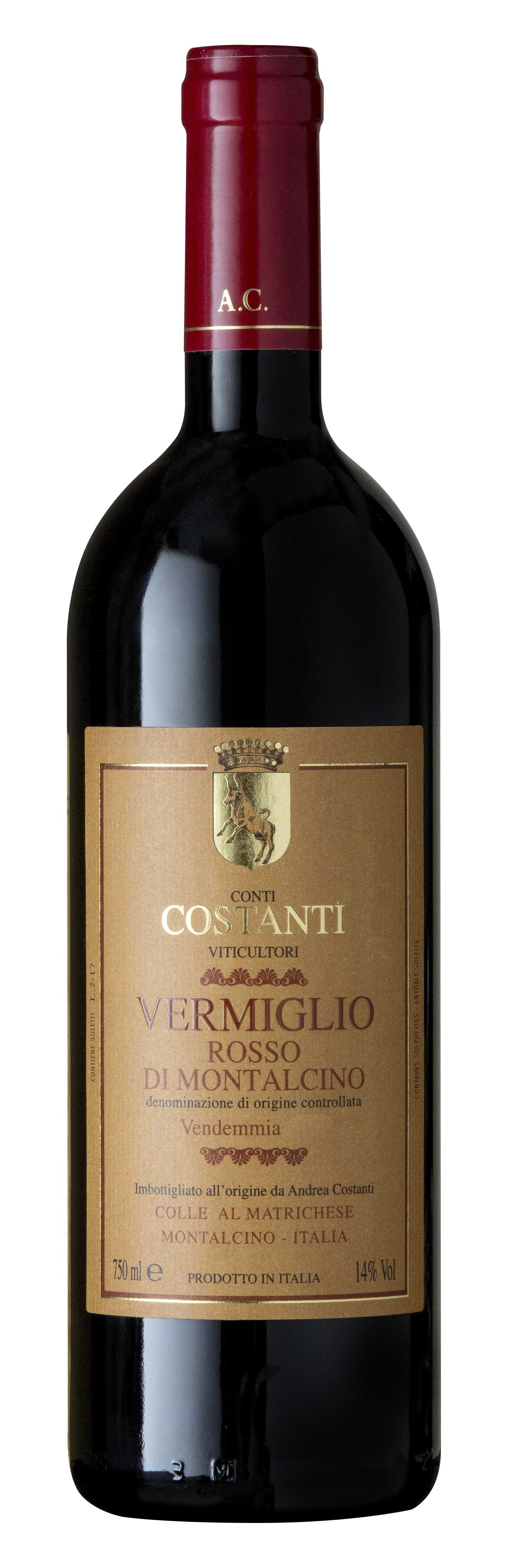 Conti Costanti, 'Vermiglio' Rosso di Montalcino 2014