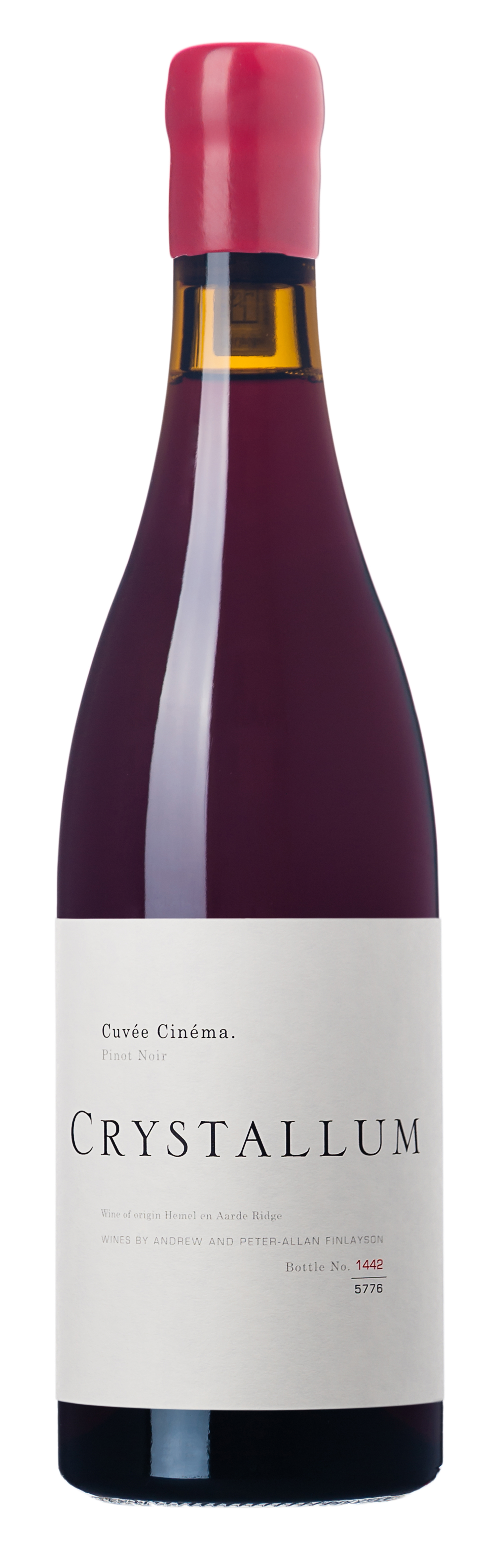Crystallum, `Cuvée Cinéma` Hemel-en-Aarde Pinot Noir 2017
