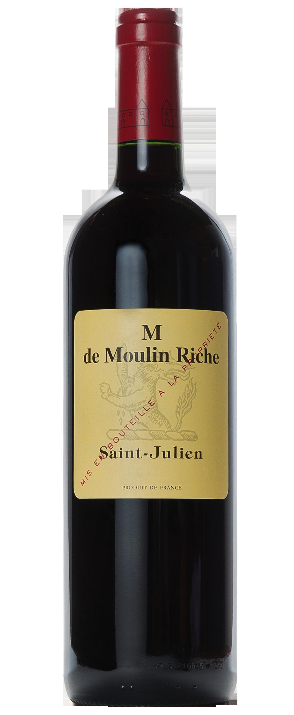 Château Moulin Riche, M de Moulin Riche Saint-Julien 2013