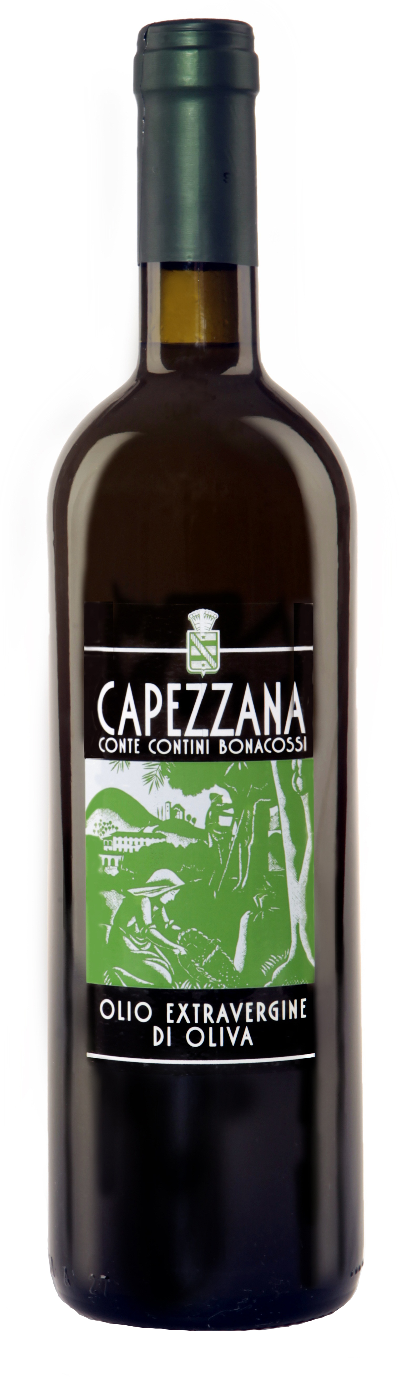 Capezzana, Organic Extra Virgin Olive Oil (Non-Filtered) 2017