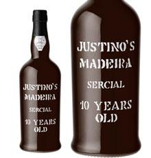 Justino's Madeira, Sercial 10 Years Old NV