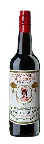 Valdespino, Manzanilla `Deliciosa` En Rama Pago de Miraflores NV