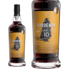 Sandeman Port, 10 Year Old Tawny Port NV
