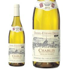 Domaine Daniel-Etienne Defaix, Chablis Vieilles Vignes 2013