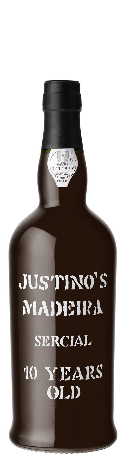 Justino's Madeira, 10 Year Old Sercial NV