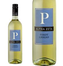 Alpha Zeta, `P` Pinot Grigio 2018