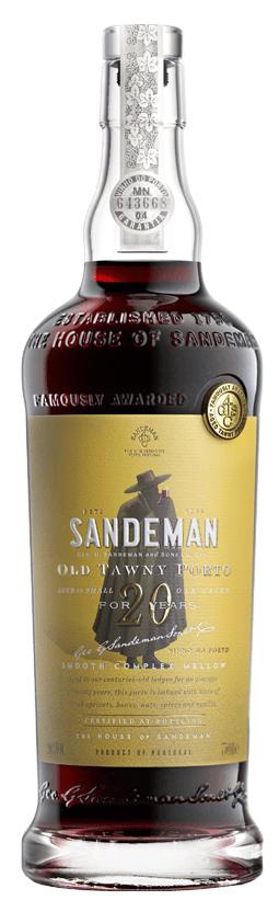 Sandeman Port, 20 Year Old Tawny Port NV