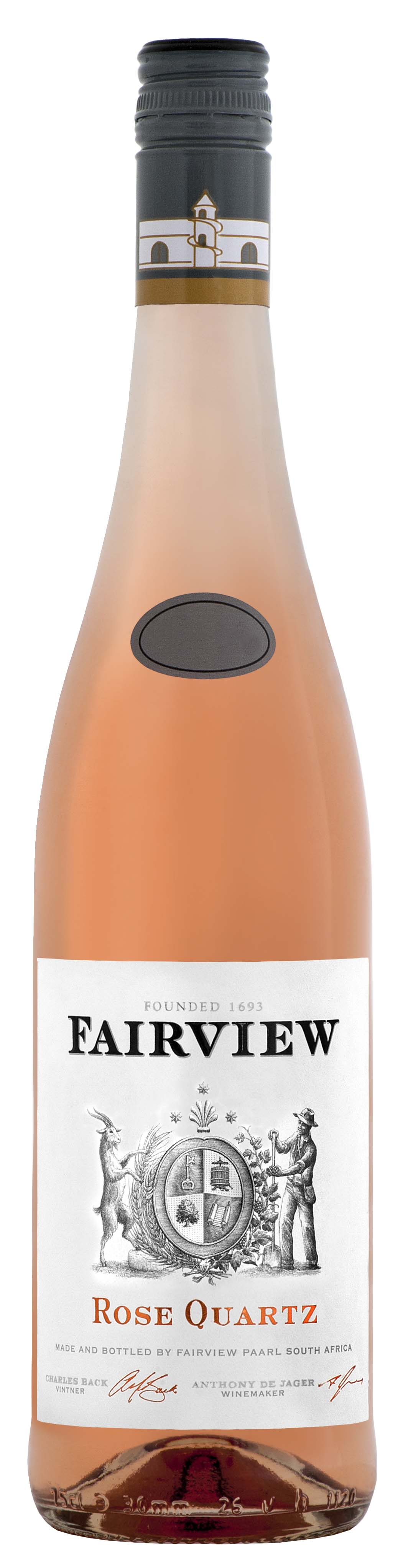 Fairview, 'Rose Quartz' Paarl  2016