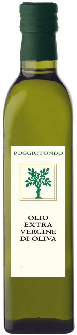 Poggiotondo, Organic Extra Virgin Olive Oil 2017