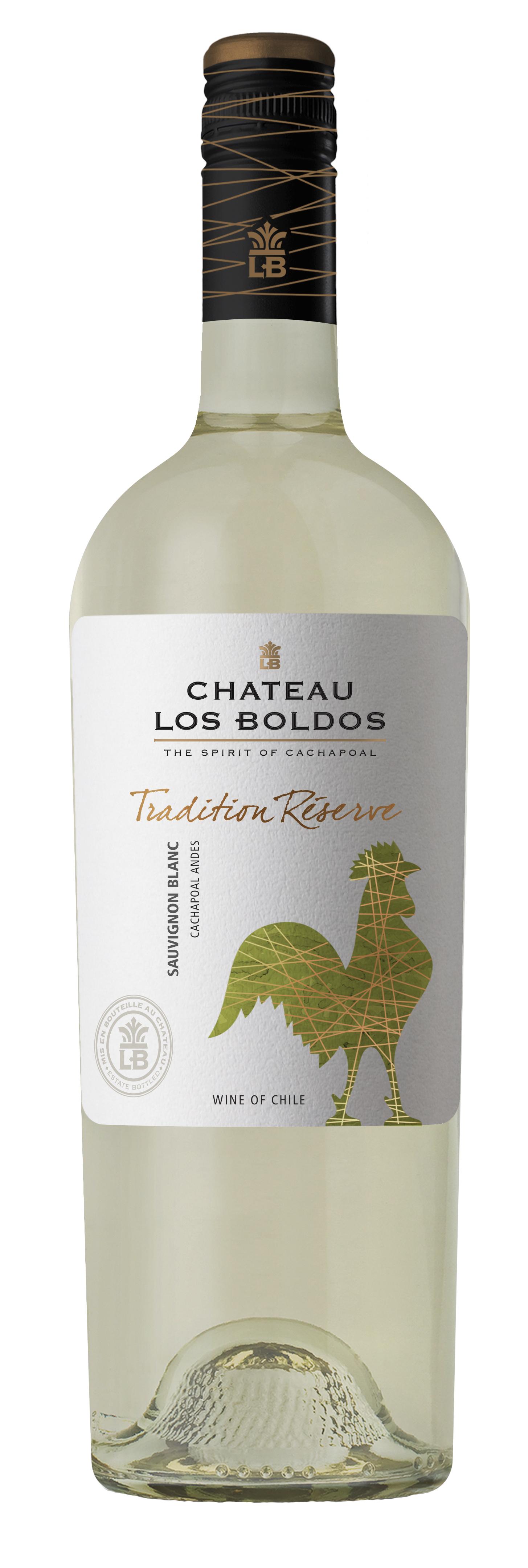 Chateau Los Boldos Tradition Réserve, Sauvignon Blanc 2016