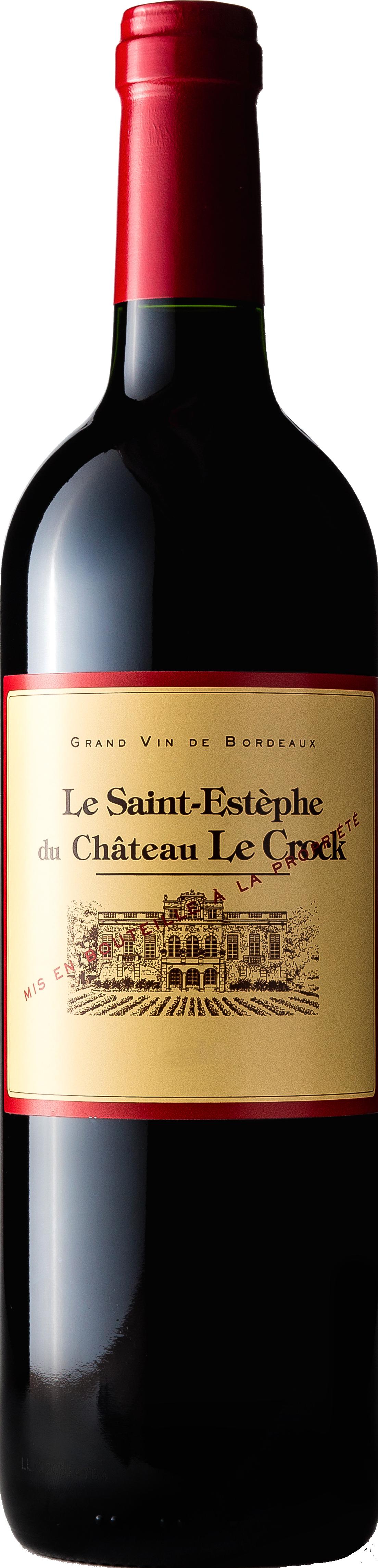 Château Le Crock, Le Saint Estèphe du Château Le Crock 2012
