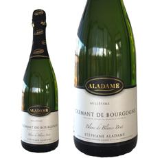 Domaine Stéphane Aladame, Crémant de Bourgogne Extra Brut NV