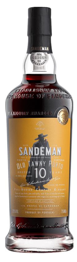 Sandeman Port, 10 Year Old Tawny Port NV