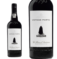Sandeman Port, Vintage Port (Wooden Case) 2011