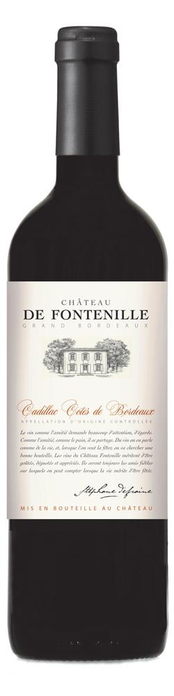 Château de Fontenille, Cadillac Côtes de Bordeaux 2014