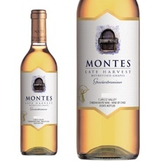 Montes, Curicó Valley Late Harvest Gewürztraminer 2015
