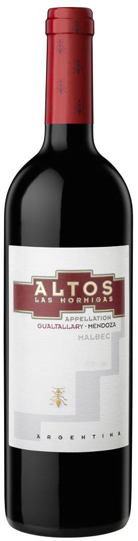 Altos Las Hormigas, Appellation 'Gualtallary' Malbec 2013
