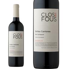 Clos des Fous, `Grillos Cantores` Alto Cachapoal Cabernet Sauvignon 2013
