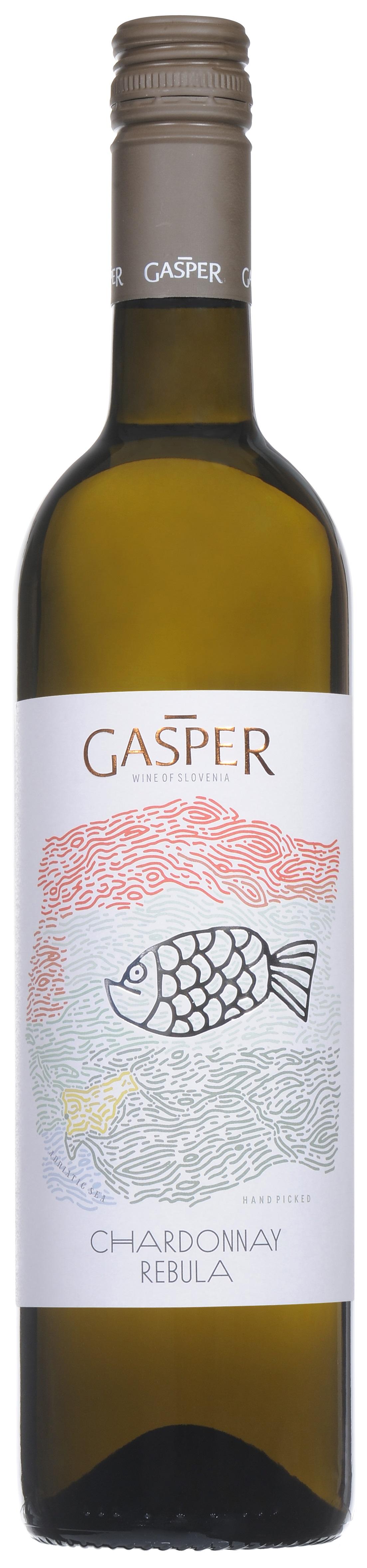 Gasper, Chardonnay/Rebula 2015