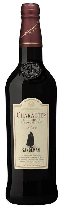 Sandeman Jerez, Character Med/Dry Amontillado Sherry NV