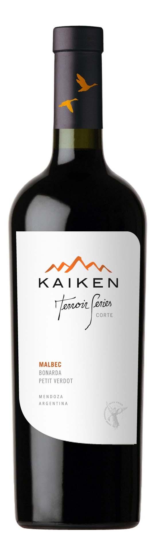 Kaiken Terroir Series Malbec Bonarda Petit Verdot IRISH WINE OF THE YEAR