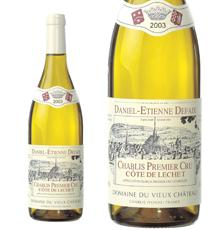 Domaine Daniel-Etienne Defaix, Chablis 1er Cru `Côte de Léchet` 2003