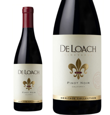 De Loach, `Heritage Collection' California Pinot Noir 2015