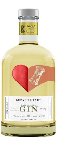 Broken Heart, Barrel Aged Gin NV