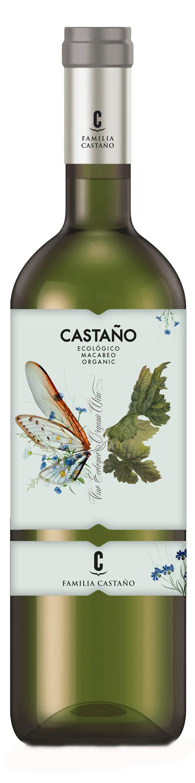 Castaño, Organic Macabeo 2016