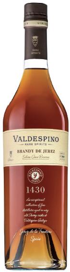 Valdespino, `Rare Spirits` Brandy de Jerez Solera Gran Reserva NV