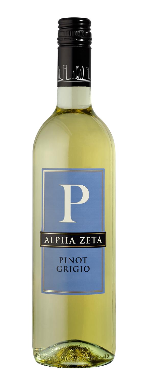 Alpha Zeta, `P` Pinot Grigio 2017