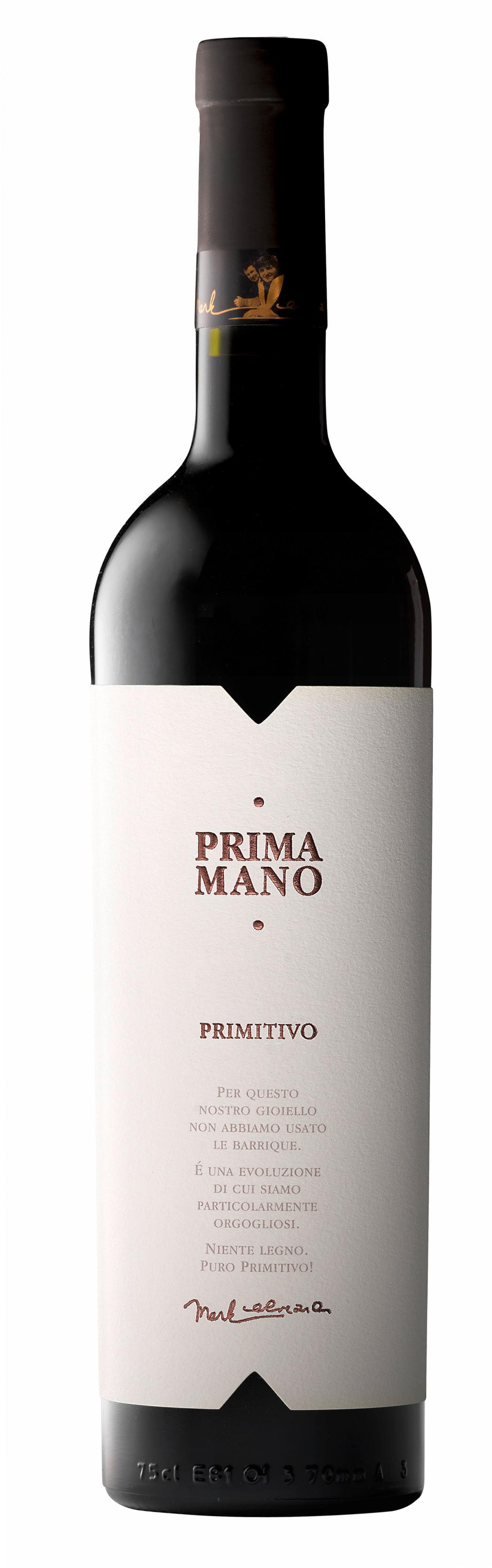 A Mano, `Prima Mano` Primitivo (Wooden Case) 2015