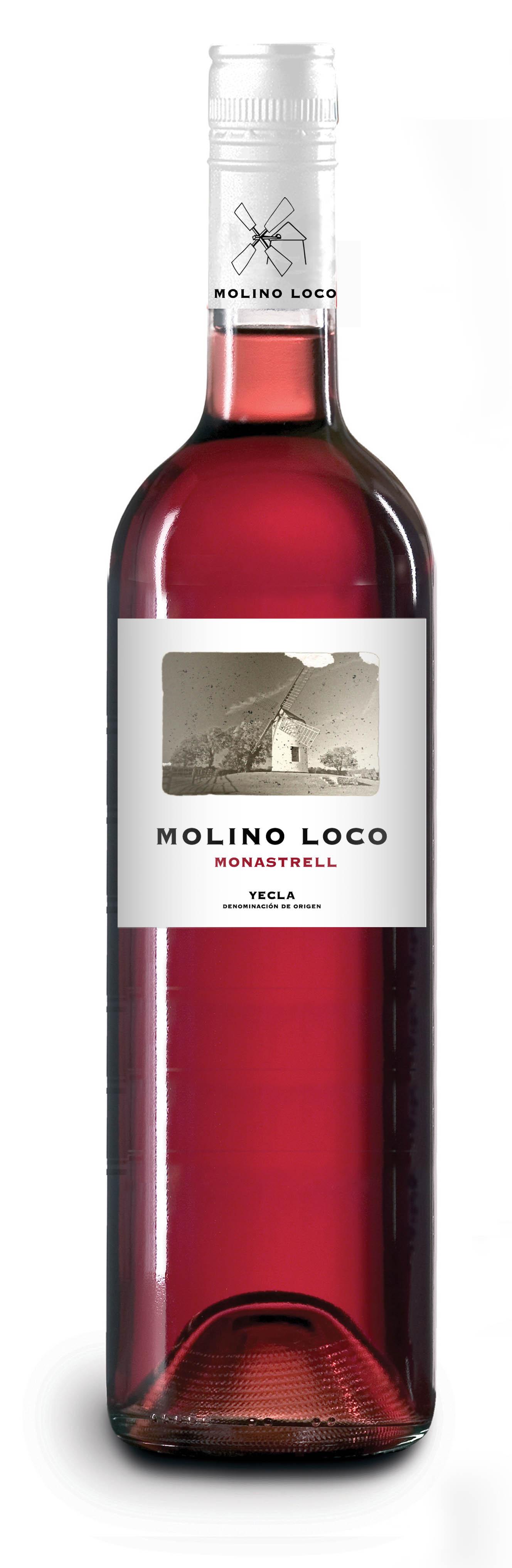 Molino Loco, Monastrell Rosado DO Yecla 2016