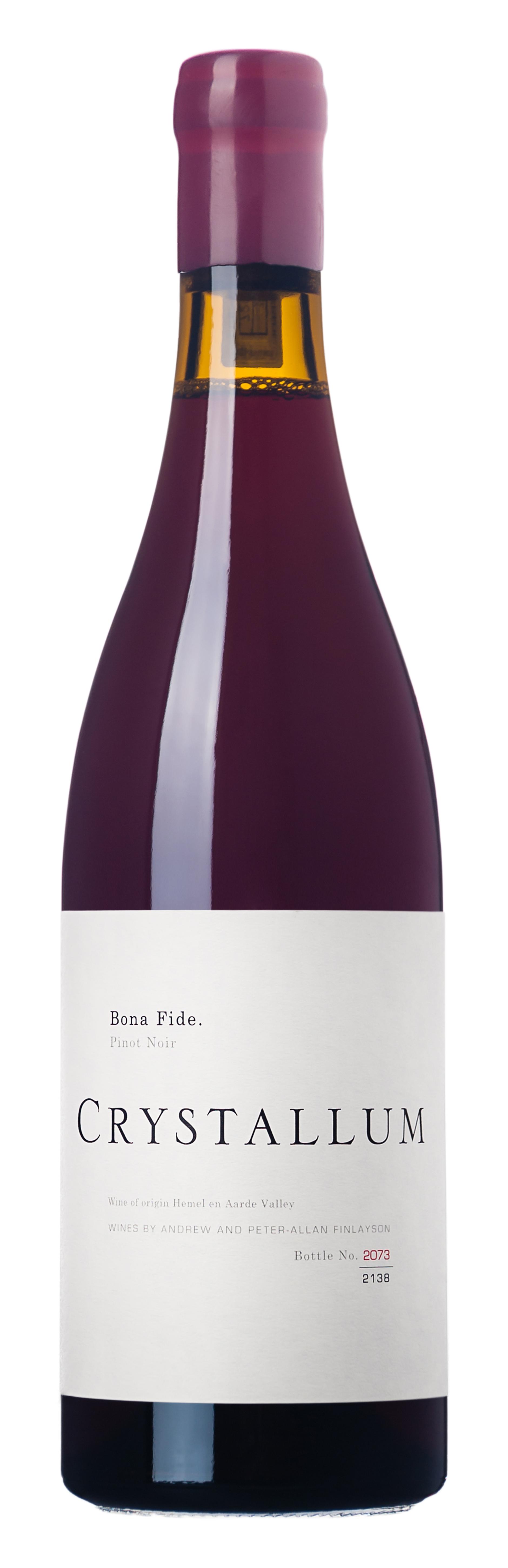 Crystallum, `Bona Fide` Hemel-en-Aarde Pinot Noir 2017