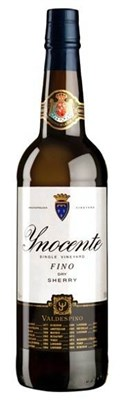 Valdespino, Fino `Inocente` Pago de Macharnudo, NV, 75cl, Agglomerated Cork