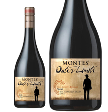 Outer Limits by Montes, Aconcagua Costa Syrah 2016