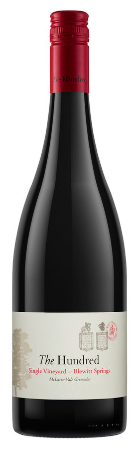 Willunga 100, 'The Hundred Blewitt Springs' McLaren Vale Grenache  2015